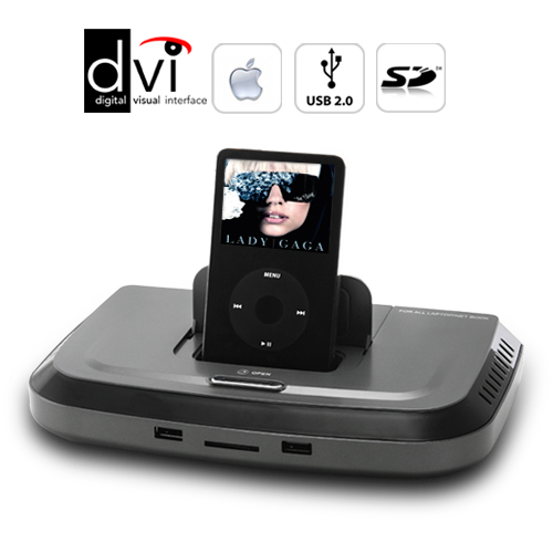 Bluetooth/Monitor/Apple/USB Docking Station with Microphone and Speaker