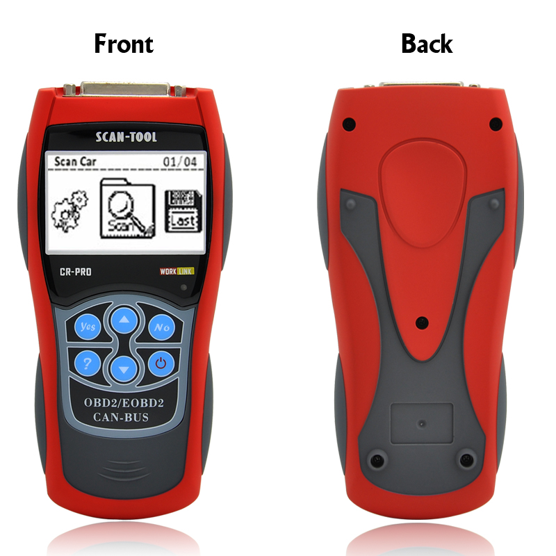 Professional OBD-II and EOBD Code Reader + Scanner