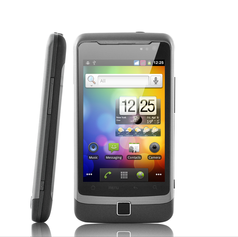 Alpha Trident Plus - 3G Android 2.3 Smartphone (3.5 Inch, GSM + WCDMA Dual SIM)
