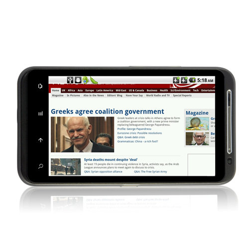 Nexo Touch - Unlocked Android 2.2 Smartphone (4.3 Inch Touchscreen, Dual Sim)
