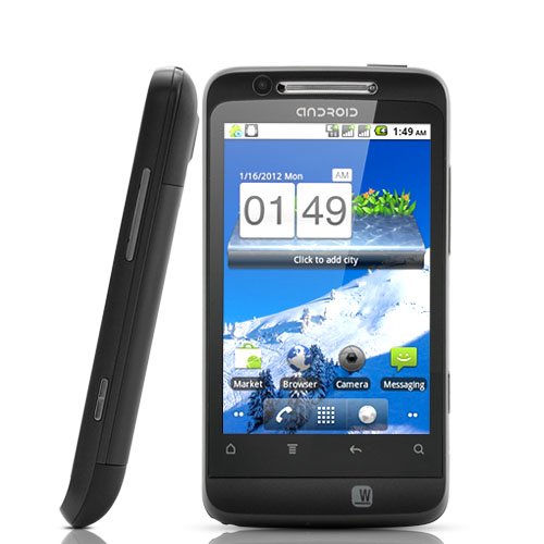 Achernar - 3.5 Inch Touchscreen Android 2.3 Smartphone with Dual SIM + Wi-Fi