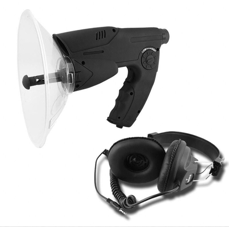 Bionic Ear with Monocular and Stereo Headphone - 100 Meters Sound Distance