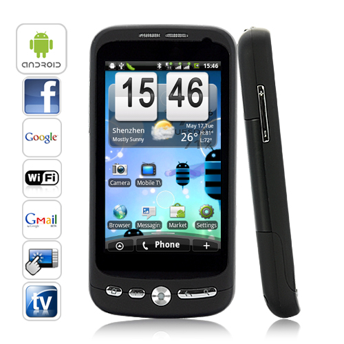 Arcturus - 3.5 Inch Multi-Touch Android 2.2 Smartphone (TV, WiFi, Dual Sim)