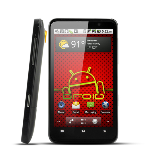 Aurous - 4.3 Inch HD Android 2.2 Smartphone (Dual Camera, WiFi)