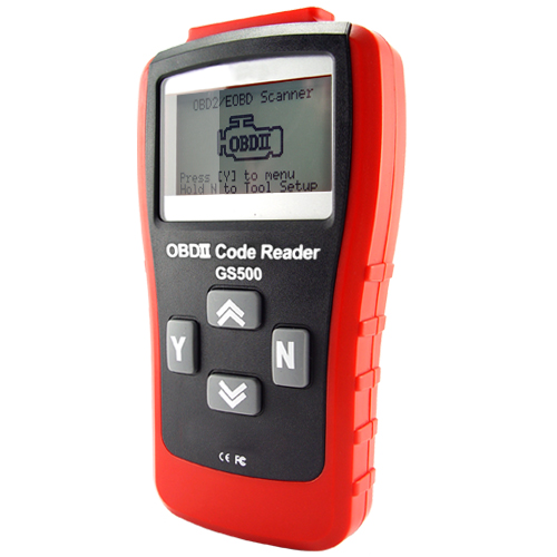 Professional Ultimate OBD-2 and EOBD Code Scanner with 3 Inch LCD Display