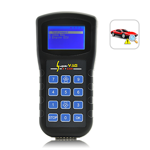 VAG Diagnostics Code Scanner + Programming (K + CAN) - Adjust Odometer, Read PIN & Reset Airbag
