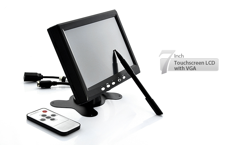 7 Inch Touchscreen LCD Monitor For Car Computer POS TFQ E169 US
