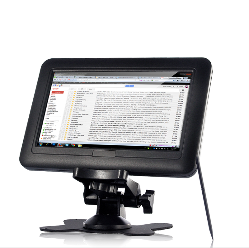 Wholesale 7 Inch USB Touchscreen TFT Monitor (800 x 480, 500: 1)