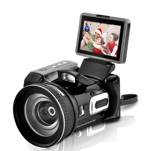 Wholesale Digital Video Camcorder (16x Optical Zoom Telescope Lens, CMOS 5MP)