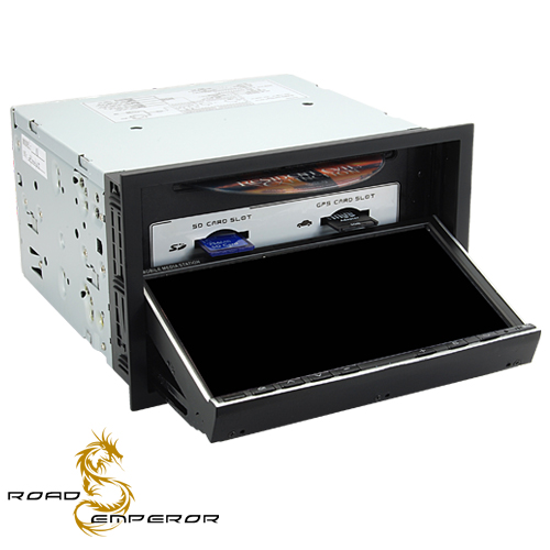 Road Emperor - 2 DIN In Dash Car DVD Player with 3G, WiFi and GPS