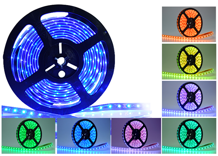 Wholesale Flexible Weatherproof Multi-Color LED Strip (10 Meters, Remote)