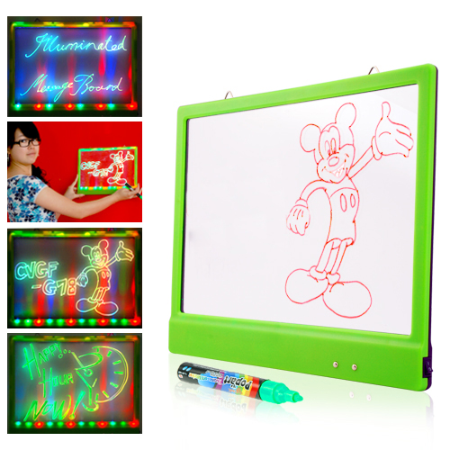 LED Message Board (Blue, Red, Green LED Colors)