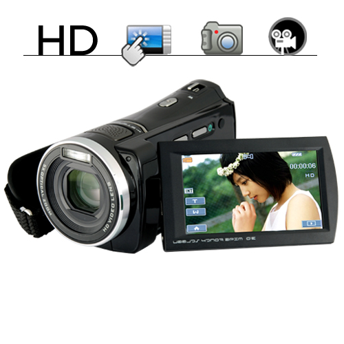 Wholesale 1080P HD Digital Video Camcorder (Touchscreen, Motion Detection)