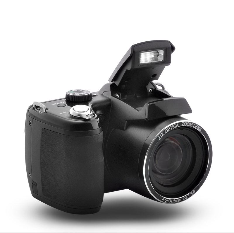 Wholesale ZoomX - 16MP Digital Camera + 920x1080P @ 60fps Camcorder (21x Optical Zoom)