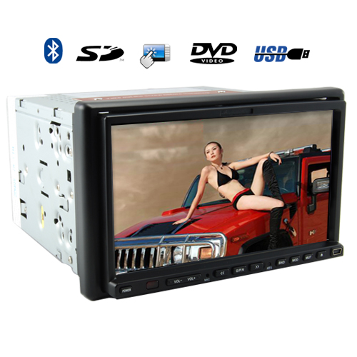 Quantum Leap - 7 Inch TFT Touchscreen Car DVD Player (Bluetooth, Remote)