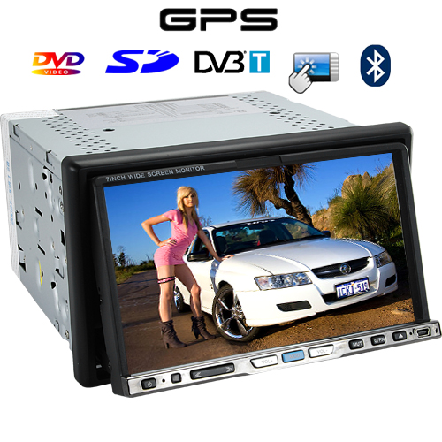 Road Master - 7 Inch TFT Touchscreen Car DVD Player (Dual Zone, GPS, DVB-T)