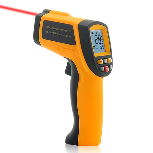Wholesale Advanced Infrared Thermometer (Laser Targeting, Emissivity Adjustment)