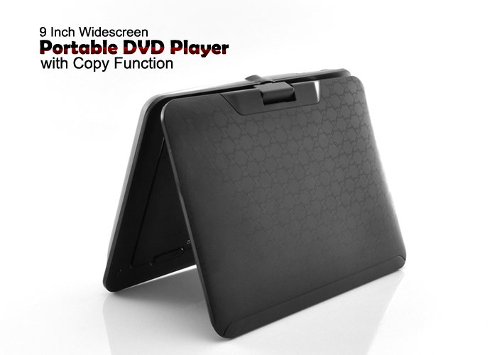 9 Inch Widescreen Portable DVD Player (Direct Copy, TV, Region-free)