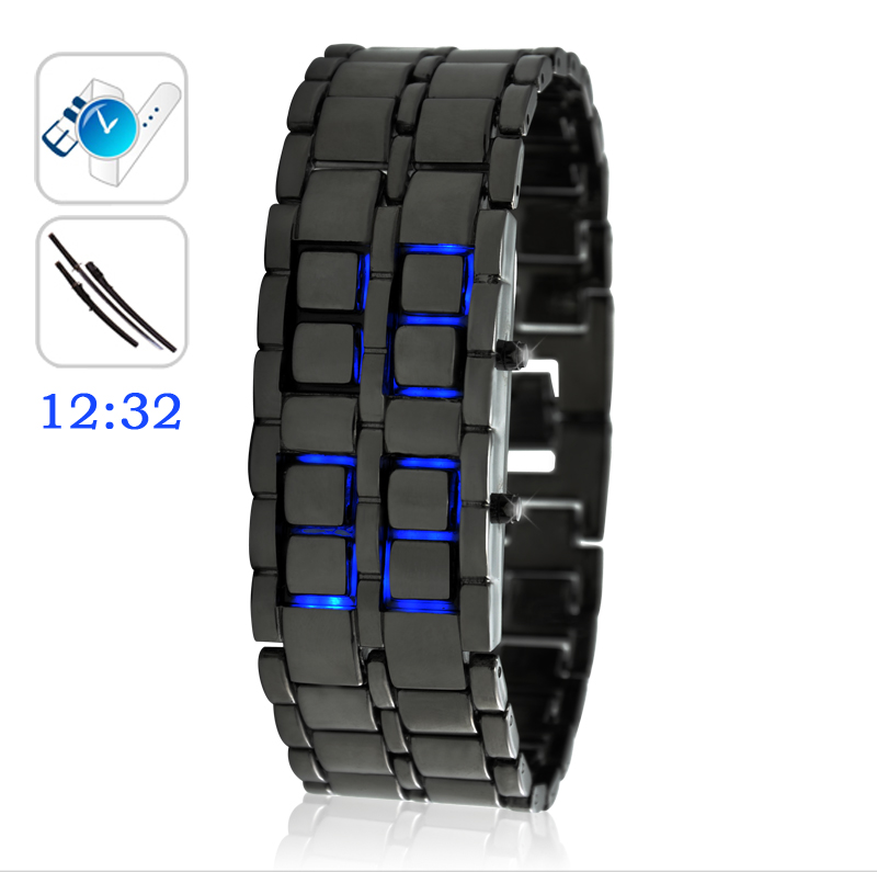 Wholesale Ice Samurai - Japanese-inspired LED Watch - Blue
