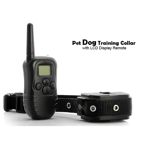 Dog Shock and Vibration Collar with Remote Control [TJC-G340]- US