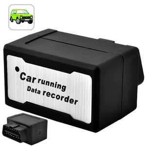 OBD-2 Diagnostic Car Automatic Data Recorder with Alarm - Easy for DIY
