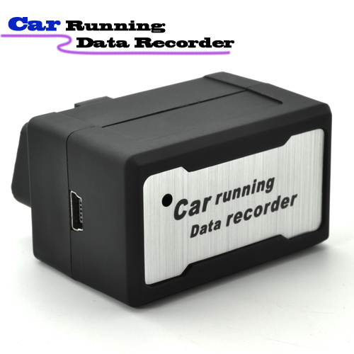 OBD-2 Diagnostic Car Automatic Data Recorder with Alarm - Easy for