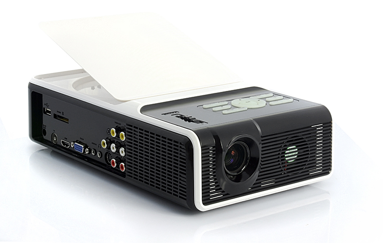MagicView - Multimedia LED Projector + DVD Player (1024 x 768, HDMI)