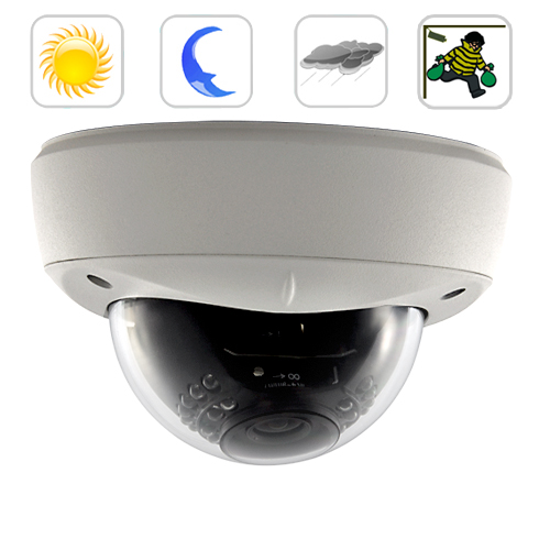 Wholesale 1/3 Inch Sony CCD Security Camera (Weatherproof, Night Vision, V