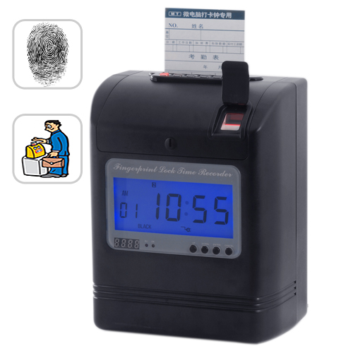 Wholesale Attendance Recorder - Time Card + Fingerprint Verification