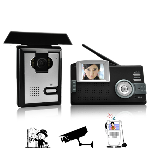 Portable Wireless Audio and Video Intercom System