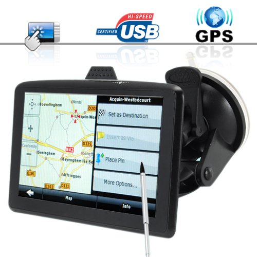 "Wholesale The Explorer - 5"" Touchscreen Portable GPS Navigator + Multimedia Player"
