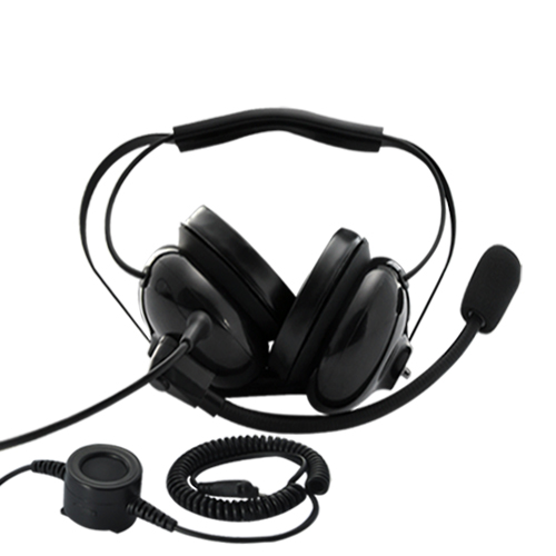 Noise Reduction Headphone for Motorola Walkie Talkies and Two-Way Radios