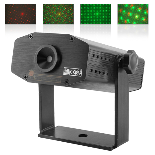 Moving Starry Effects Laser Projector w/ Sound Activation
