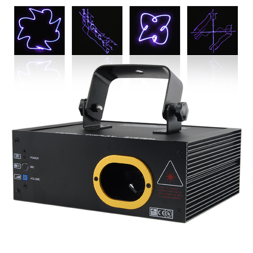 Wholesale The Purple Haze - Club Effect Purple Laser Projector