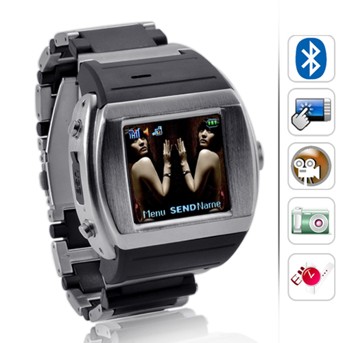 "Wholesale Terminal - 1.5"" Touchscreen Watch Cell Phone (Quadband, Bluetooth)"