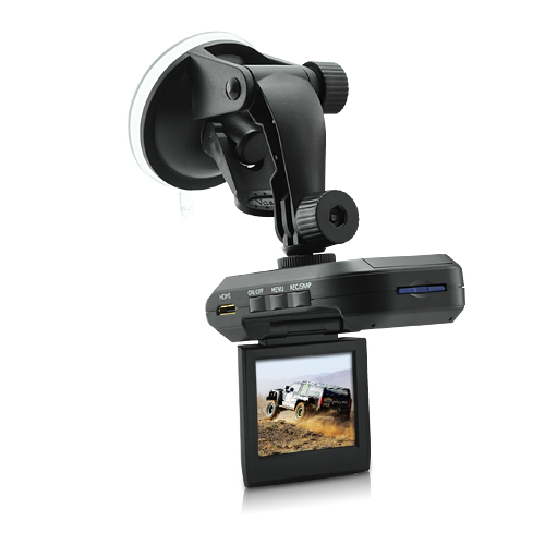 720P HD Mini Car DVR (2.5 Inch LCD Screen, Nightvision, Mini HDMI Out)