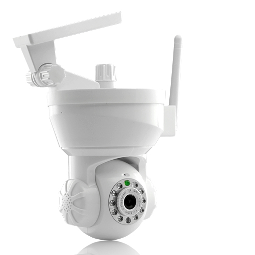 IP Surveillance Camera - Motion Detect with Email Alarm (White)