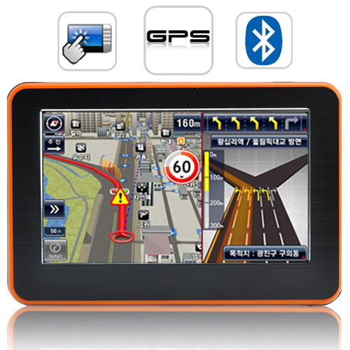 "Wholesale Adventurist - 4.3"" Touchscreen GPS Navigator with Multimedia Player"