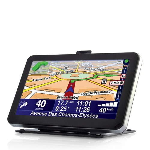 "Wholesale 7"" Touchscreen GPS Navigator (WiFi, FM Transmitter, 600MHz CPU)"