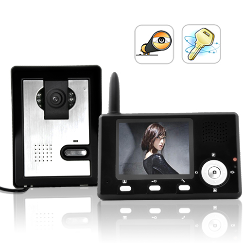 Wholesale Entry Guardian - Wireless Video Door Phone with 3.4 inch TFT Screen