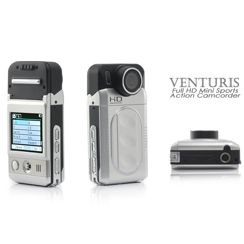 Venturis - 1080P HD Mini Sports Action Camcorder (MPEG-4, 8 MP)