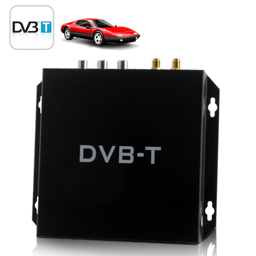 Car HD DVB-T Digital TV Receiver - Remote & Easy DIY