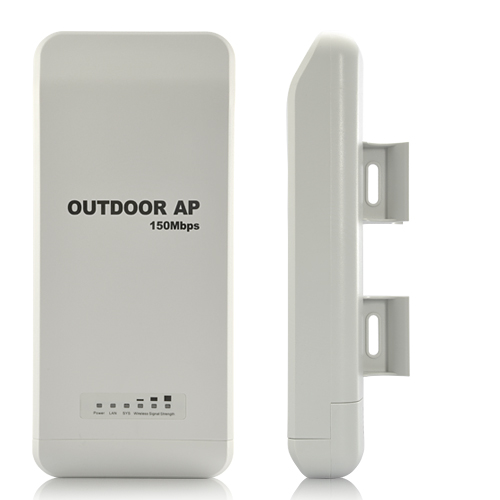 Wholesale Weatherproof 150Mbps Wireless Outdoor Access Point with High-gain Antenna