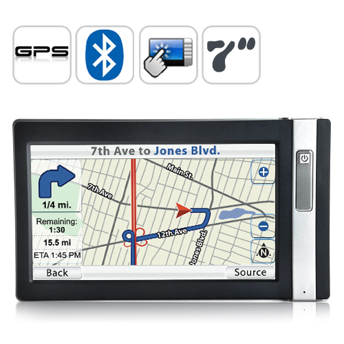 "Wholesale Navigo - 7"" Touch Screen GPS Navigator (SiRF Star III Receiver Module)"