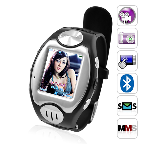 "Wholesale Thrifty - 1.5"" Touchscreen Watch Phone (Quad Band, Bluetooth)"