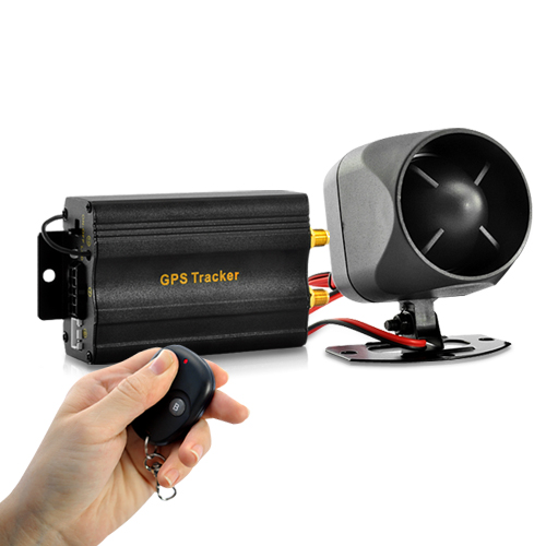 Real-Time Car GPS Tracker + Alarm System (Quadband, Remote, Shock Sensor)