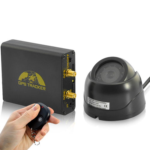 Wholesale Real-Time Car GPS Tracker + Alarm System (GSM Camera, Microphone, Shock Sensor)