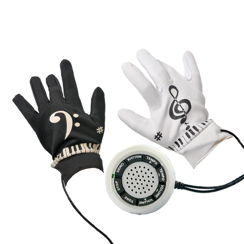 Wholesale Electronic Piano Gloves with Musical Fingertips - 8 Instrument Tones