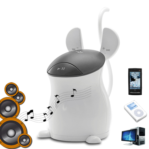 i-Jerry Resonance Speaker with FM Radio