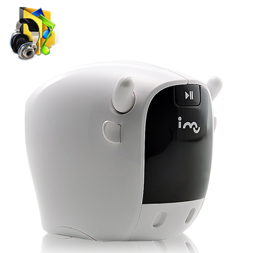 i-Mo Resonance Speaker with FM Radio and MP3 Player